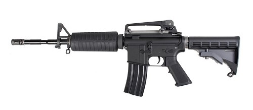 WETTI M4A1 GAS BLOW BACK RIFLE - OPEN BOLT