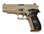WE TECH P226 Railed MK25 Full Metal TAN - TA V2 Custom